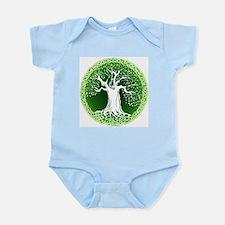 Green2 Celtic Tree Infant Bodysuit