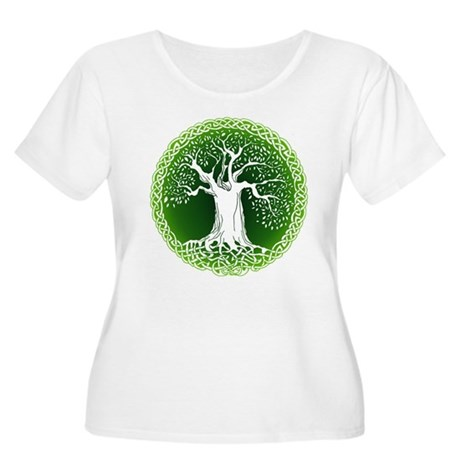 Wisdom Tree Women's Plus Size Scoop Neck T-Shirt
