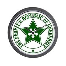 Republic of Greenbelt Wall Clock