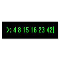Numbers Bumper Sticker (10 pk)
