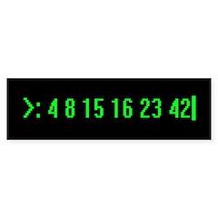 Numbers Bumper Sticker (10 pk)
