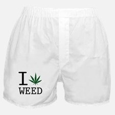 Cute Weed Boxer Shorts