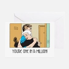 One In A Million Greeting Card