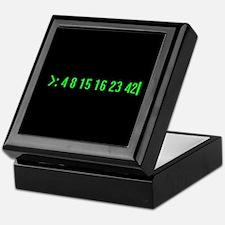 Numbers Keepsake Box
