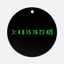 Numbers Ornament (Round)