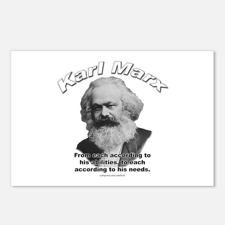Karl Marx 02 Postcards (Package of 8)