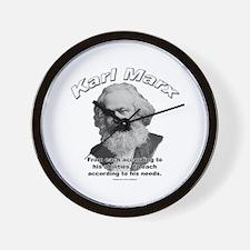 Karl Marx 02 Wall Clock