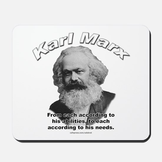 Karl Marx 02 Mousepad