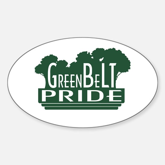 GreenBeLT Pride Oval Decal
