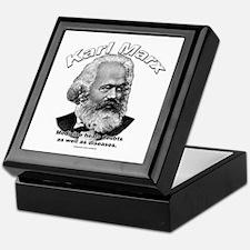 Karl Marx 01 Keepsake Box