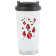 Strawberry Travel Coffee Mug
