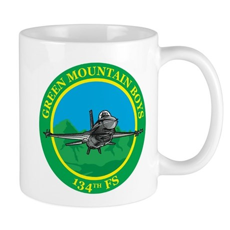 detailed 134FS patch (no border) Mugs