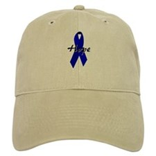 Colon Cancer Awareness Ribbon Baseball Cap