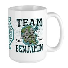 Team Benjamin Large Mug