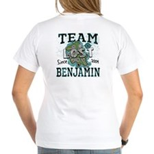 Team Benjamin 2 sided Shirt