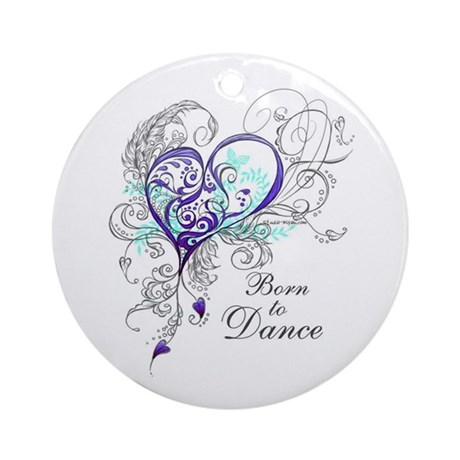 Born to Dance Ornament (Round)