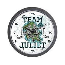 Team Juliet Wall Clock