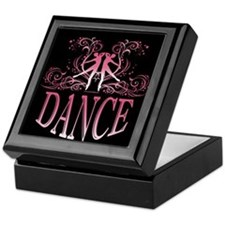 DANCE (rose) Keepsake Box