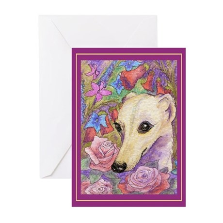 Shy flower Greeting Cards (Pk of 20)