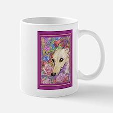 Shy flower Small Mugs