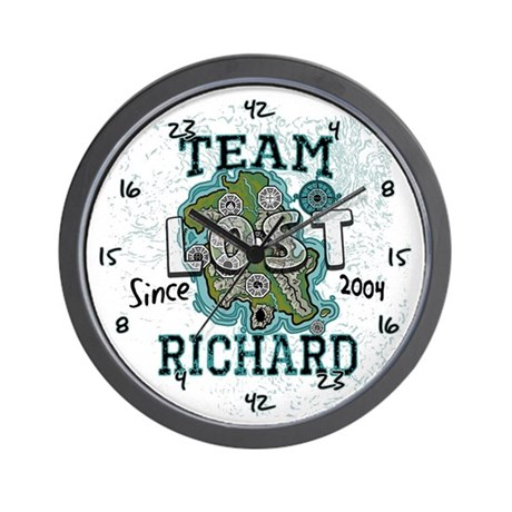 Team Richard Wall Clock