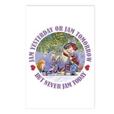 NEVER JAM TODAY! Postcards (Package of 8)