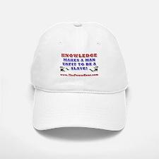 KNOWLEDGE UNFIT SLAVE Baseball Baseball Cap