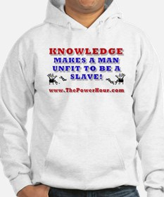 KNOWLEDGE UNFIT SLAVE Jumper Hoody