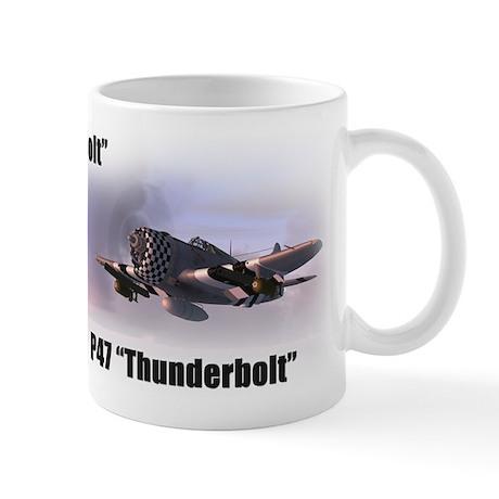 P47 Thunderbolt Wide Mug