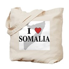 I Love Somalia Tote Bag