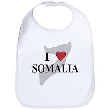I Love Somalia Bib
