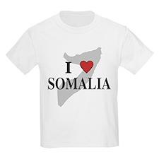 I Love Somalia Kids T-Shirt