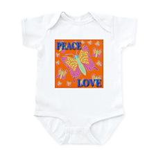 Peace & Love Butterflies Oran Infant Creeper