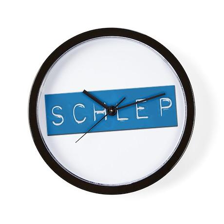 SCHLEP Wall Clock