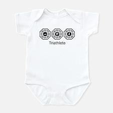 Triathlon Lost Infant Bodysuit