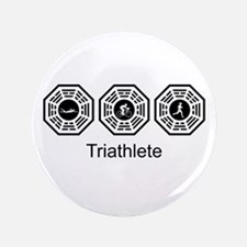 "Triathlon Lost 3.5"" Button"