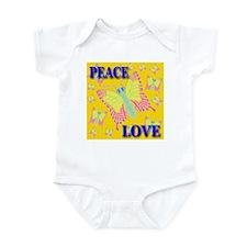 Peace & Love Butterflies Prec Infant Creeper