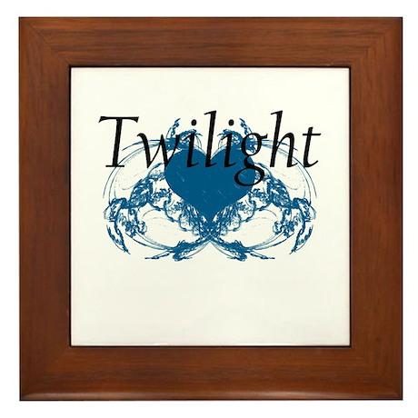 Twilight Framed Tile