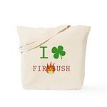 I Love Firebush Tote Bag