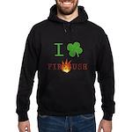 I Love Firebush Hoodie (dark)