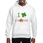 I Love Firebush Hooded Sweatshirt