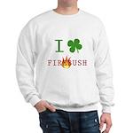 I Love Firebush Sweatshirt