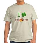 I Love Firebush Light T-Shirt