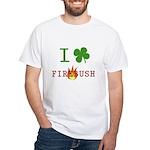 I Love Firebush White T-Shirt