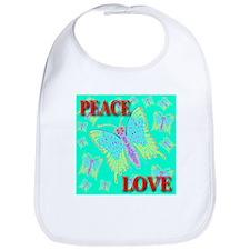 Peace & Love Butterflies Exot Bib
