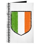 Irish Flag Crest Journal