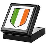 Irish Flag Crest Keepsake Box