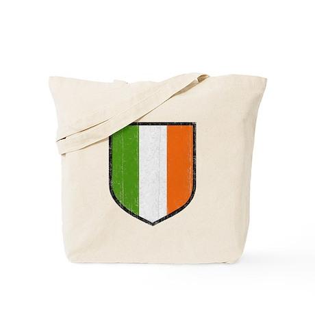 Irish Flag Crest Tote Bag