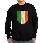 Irish Flag Crest Sweatshirt (dark)