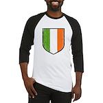 Irish Flag Crest Baseball Jersey